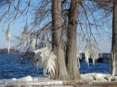 ice on the lake 5