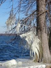 ice on the lake 6
