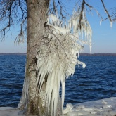 ice on the lake 7