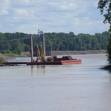 Obion River flowing to the Mississippi 3